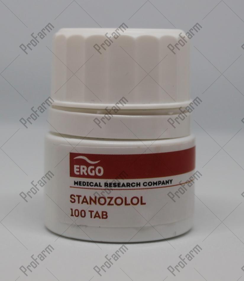 ERGO STANOZOLOL 10MG/TAB - ЦЕНА ЗА 100ТАБ