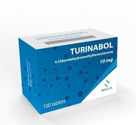 TURINABOL 10mg/tab - цена за 100 таб