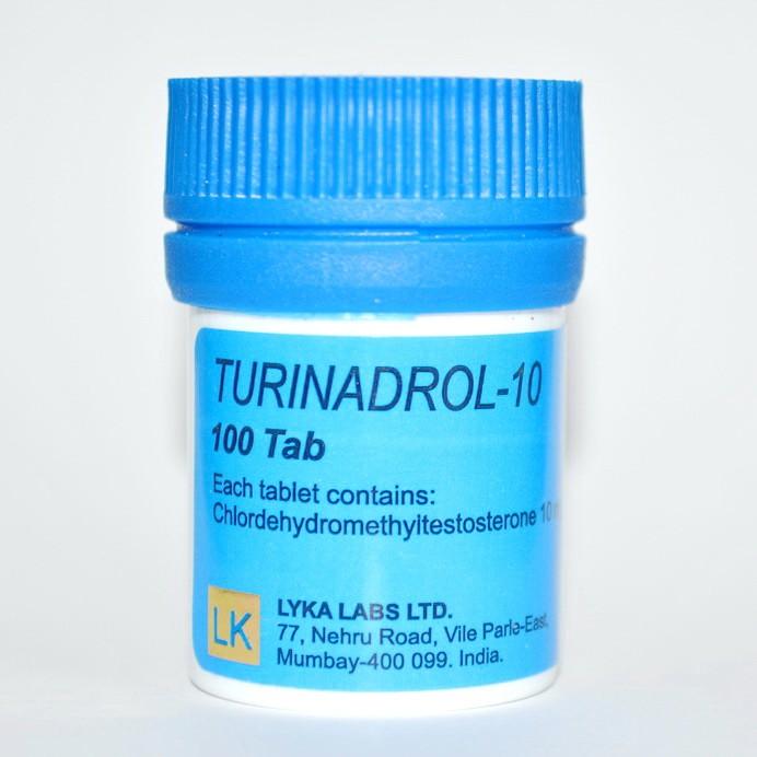 Turinadrol-10 10мг\таб - цена за 100таб.