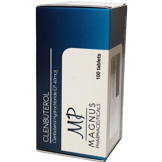 Clenbuterole Magnus 40mcg/tab - цена за 100таб