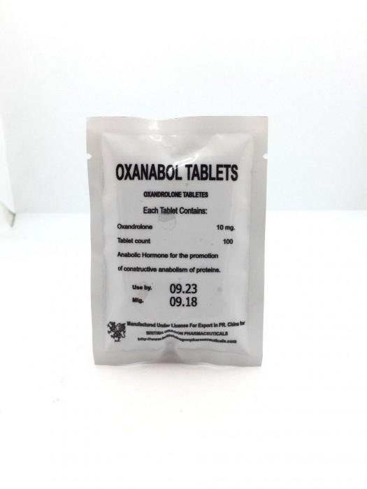 Oxanabol Tablets, 10mg/tab - цена за 100таб