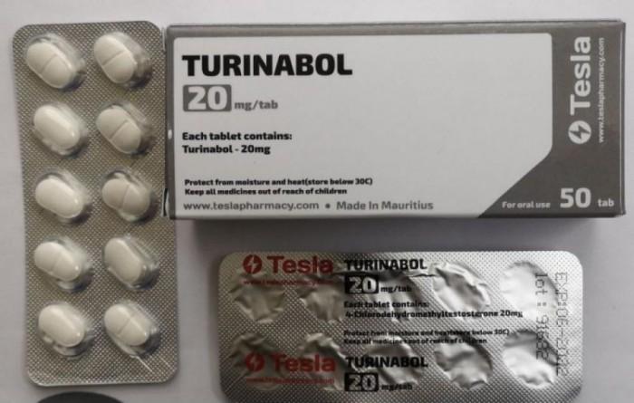 TESLA TURINABOL 20MG/TAB - ЦЕНА ЗА 50ТАБ