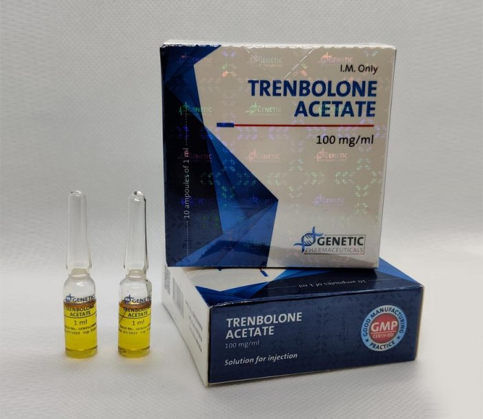 Trenbolone A Genetic 100mg/ml - цена за 1 ампулу