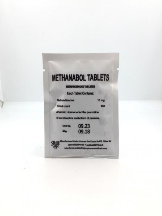 Methanabol Tablets 10мг\таб  - цена за 100таб.