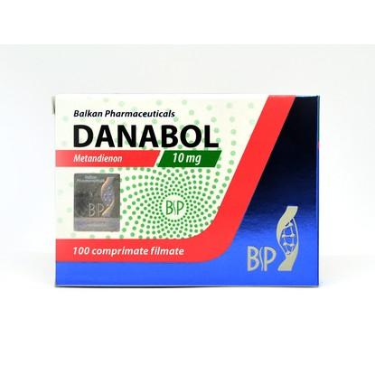 Danabol 10мг\таб - цена за 100 таб